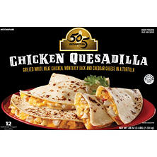 505 Green Chile Southwestern Chicken & Cheese Quesadilla (48 oz., 12 ct.)
