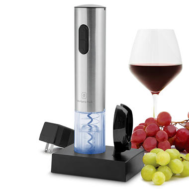 Wolfgang Puck Stainless Steel Rechargeable Wine Opener