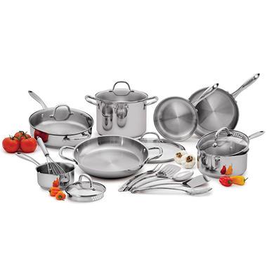 Wolfgang Puck Cookware Set - 18 pcs.