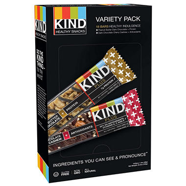 KIND Healthy Snacks - 18 ct.