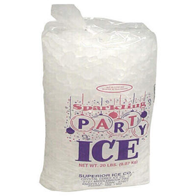 Sparkling Party Ice - 20 lb. bag