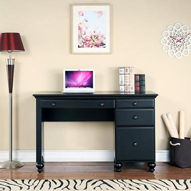 Renovations by Thomasville - Westmont Single Pedestal Desk - Ebony