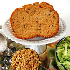 Posh Pantry Zucchini Walnut Bread - 36 oz.