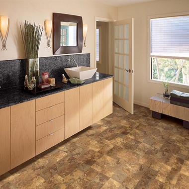 Traditional Living® Autumn Slate Premium Laminate Flooring