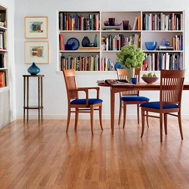 Traditional Living® Vintage White Oak Premium Laminate Flooring