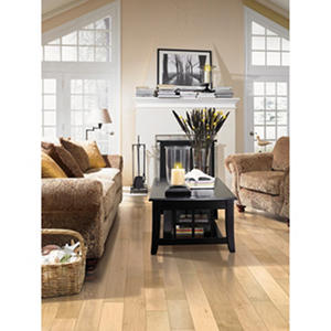"Inspired Elegance by Mohawk 5.25"" Tea Light Maple Engineered Hardwood Flooring"