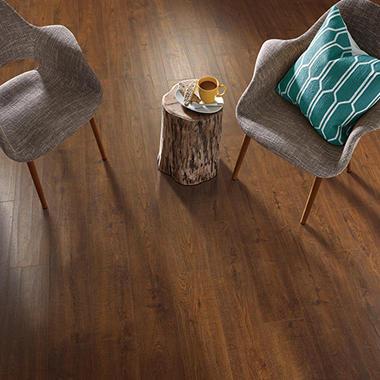 inspired elegance vineyard oak luxury laminate flooring - sam's club