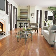 Traditional Living Golden Amber Oak II Laminate Flooring