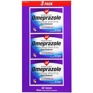Member's Mark® Omeprazole Tablets - 42 ct.