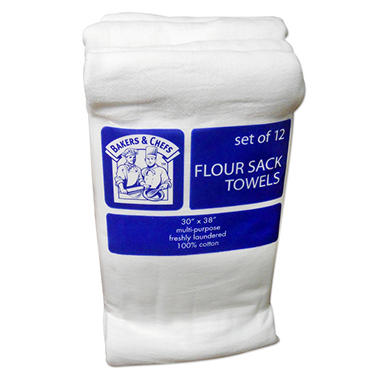 Bakers & Chefs Flour Sacks - 12 ct.