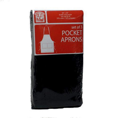 Bakers & Chefs Colored Apron - 3 pk.