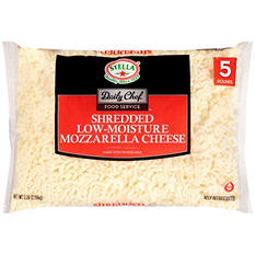 Daily Chef Food Service Shredded Low-Moisture Mozzarella Cheese (5 lb.)