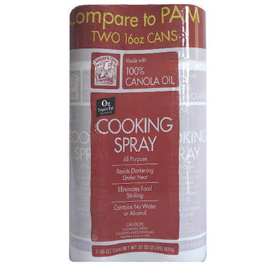 Bakers & Chefs Cooking Spray - 2 / 16 oz.