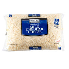 Daily Chef Mild White Shredded Cheddar (5 lbs.)