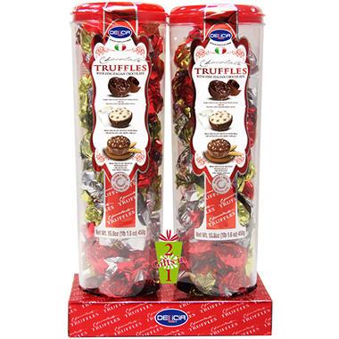 Delicia Chocolate Truffles - 15.8 oz. - 2 pk.
