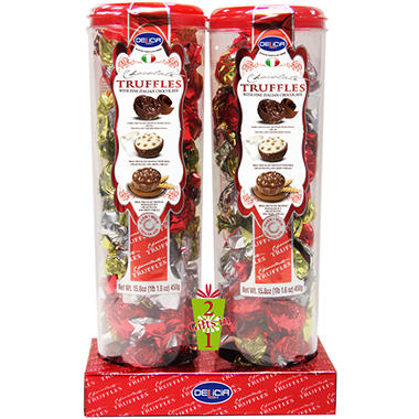 Delicia Chocolate Truffles - 15.8 oz. - 2 pk.