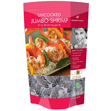Member's Mark® Uncooked Jumbo Shrimp