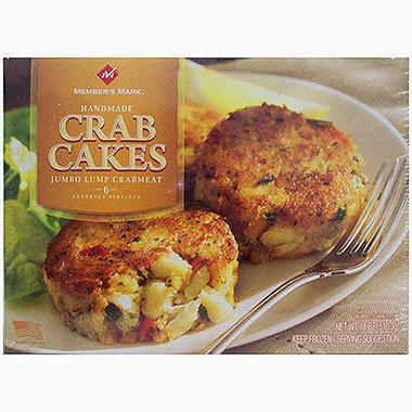 Member's Mark® Crab Cakes - 6/3oz