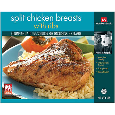 Member's Mark® Split Chicken Breasts - 6 lbs.