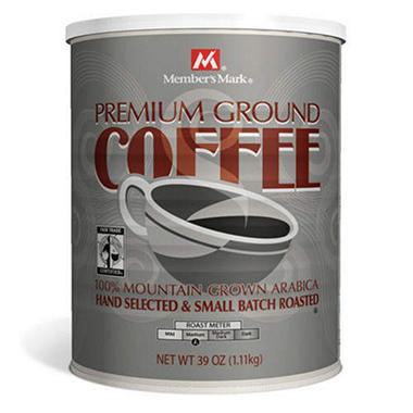 Member's Mark� Fair Trade Coffee - 39oz