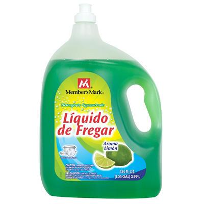 Member's Mark Lemon Liquid Dish Soap - 135 oz.