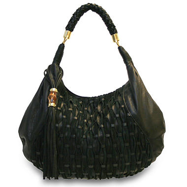 Bill Blass Jonathan Hobo Bag - Black