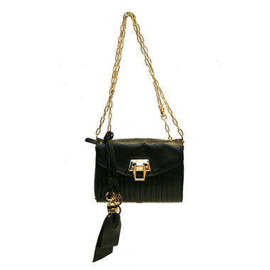 Bill Blass Walker Crossbody Bag - Black