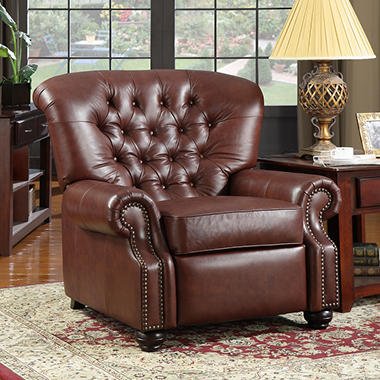 Costco Auto Program >> Monticello Pushback Recliner - Leather - Sam's Club