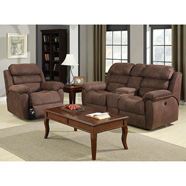 Montana Power Motion Fabric Living Room Set - 2 pc.