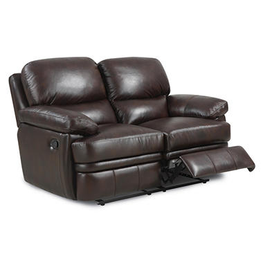 Logan Reclining Leather Loveseat