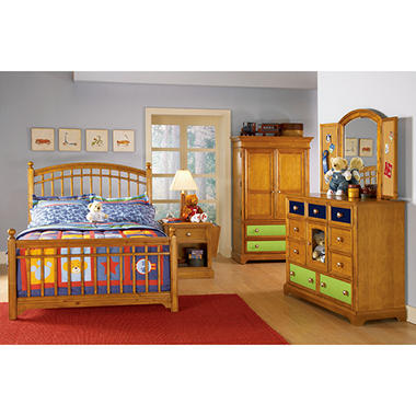 Build-A-Bear Bearrific Bedroom Set - Twin - 6 pc..