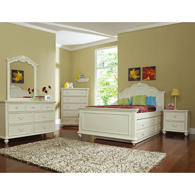 Samuel Lawrence Villa Youth Bedroom Set Twin 6 Pc