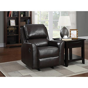 Eastwood Top-Grain Leather Rocker Recliner