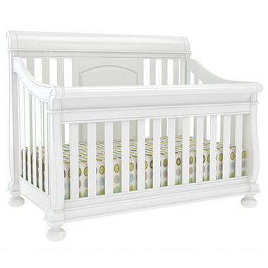 Hamilton Baby Furniture Collection - Rubbed White - 3 pc.