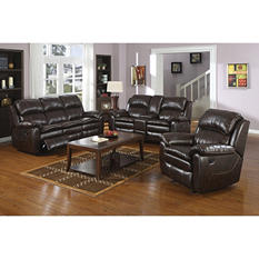 Turner Reclining Sofa, Loveseat, and Chair Set
