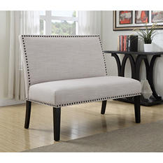 Abigail Settee Bench (Assorted Colors)