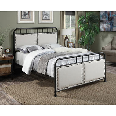 Hendrix Upholstered Bed Queen Sam s Club