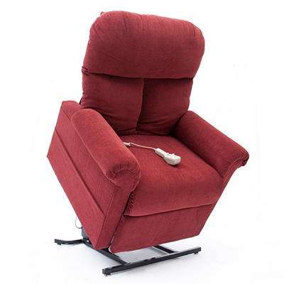 Mega Motion Easy Comfort LC-100 Infinite Position Power Recline and Lift Chair - Various Colors