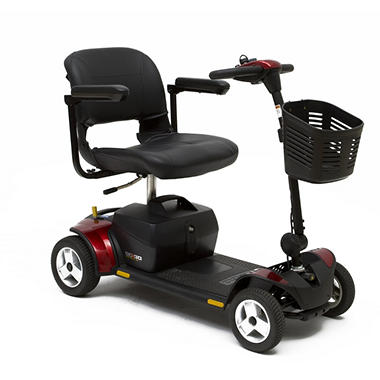 Pride Go-Go Elite Traveler Plus HD 4 Wheel Mobility Scooter