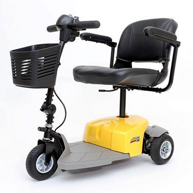 Mega Motion E8 - 3 Wheel Scooter - Yellow