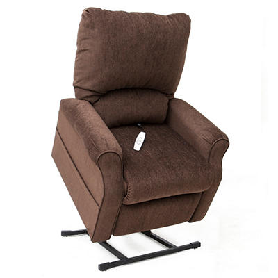 Three Position Electric Lift Chair with Crypton Fabric, Aria - Choose Color