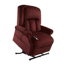 Texas Power Recline & Lift Chair, Bordeaux