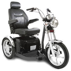 Sport Rider 3-Wheel Scooter, Single Seat