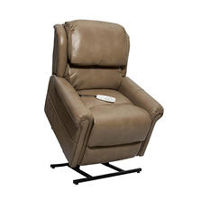 Grey 3-Position Power Recline & Lift, Mushroom