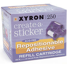 "Xyron 250 Refill-2.5""x20' Repositionable"