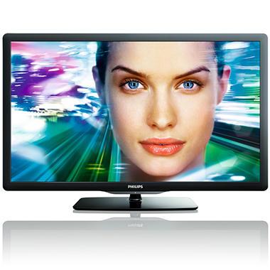 """55"""" Philips LED 1080p 120Hz HDTV"""