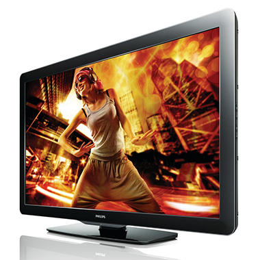 "55"" Philips LCD 1080p 120Hz HDTV"