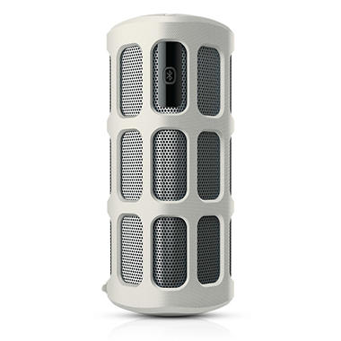 *$74.86 after $10 Tech Savings* Philips ShoqBox Bluetooth Wireless Portable Speaker - White