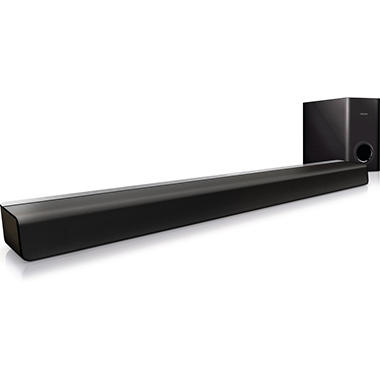 2.1 Philips Soundbar and Subwoofer