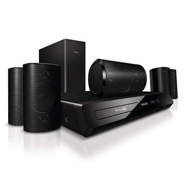 Philips 5.1 3D Blu-ray 1000W Home Theater System